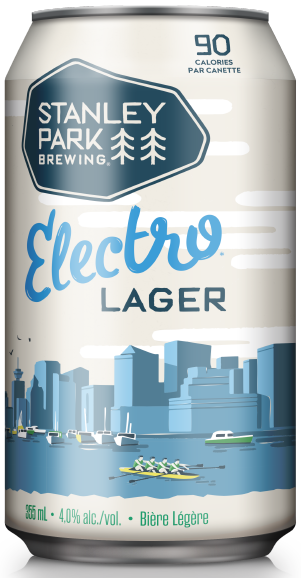 Electro Lager - Stanley Park Brewing