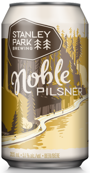 Noble Pilsner - Stanley Park Brewing