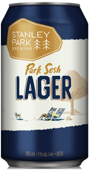 Park Sesh Lager - Stanley Park Brewing