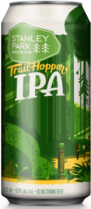 Trail Hopper IPA - Stanley Park Brewing