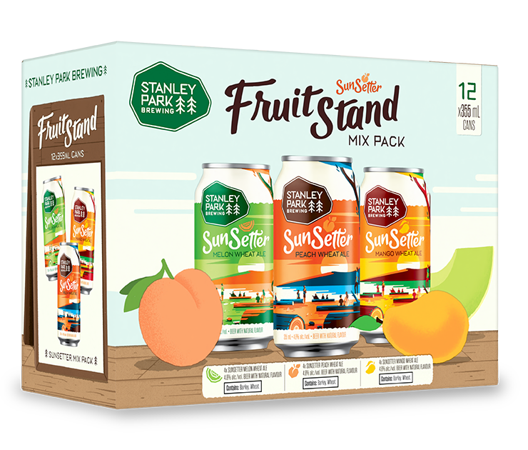 SunSetter Fruit Stand Mix Pack - Stanley Park Brewing