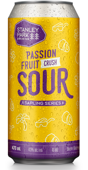 Passion Fruit Crush Sour - Stanley Park Brewing