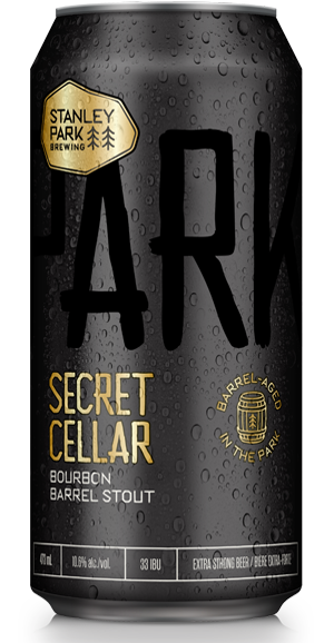 Secret Cellar Bourbon Barrell Stout - Stanley Park Brewing