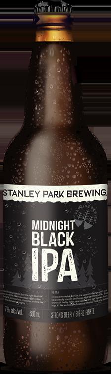 Midnight Black IPA - Stanley Park Brewing