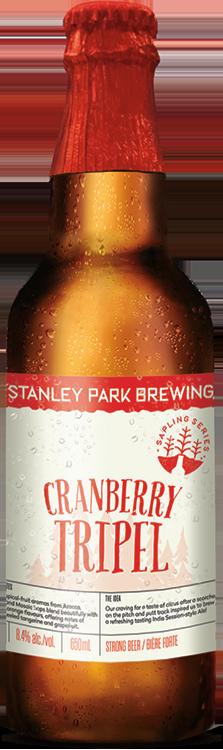 Cranberry Tripel - Stanley Park Brewing