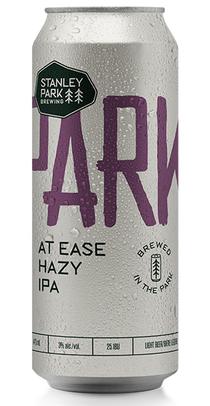 At Ease Hazy IPA - Stanley Park Brewing