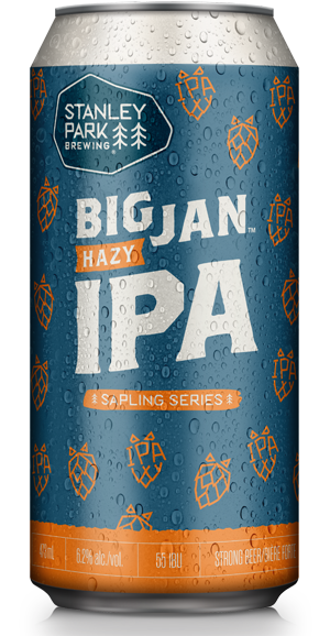Big Jan Hazy IPA - Stanley Park Brewing