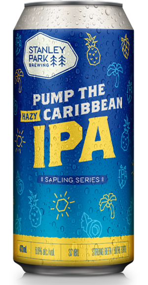 Pump The Caribbean Hazy IPA - Stanley Park Brewing