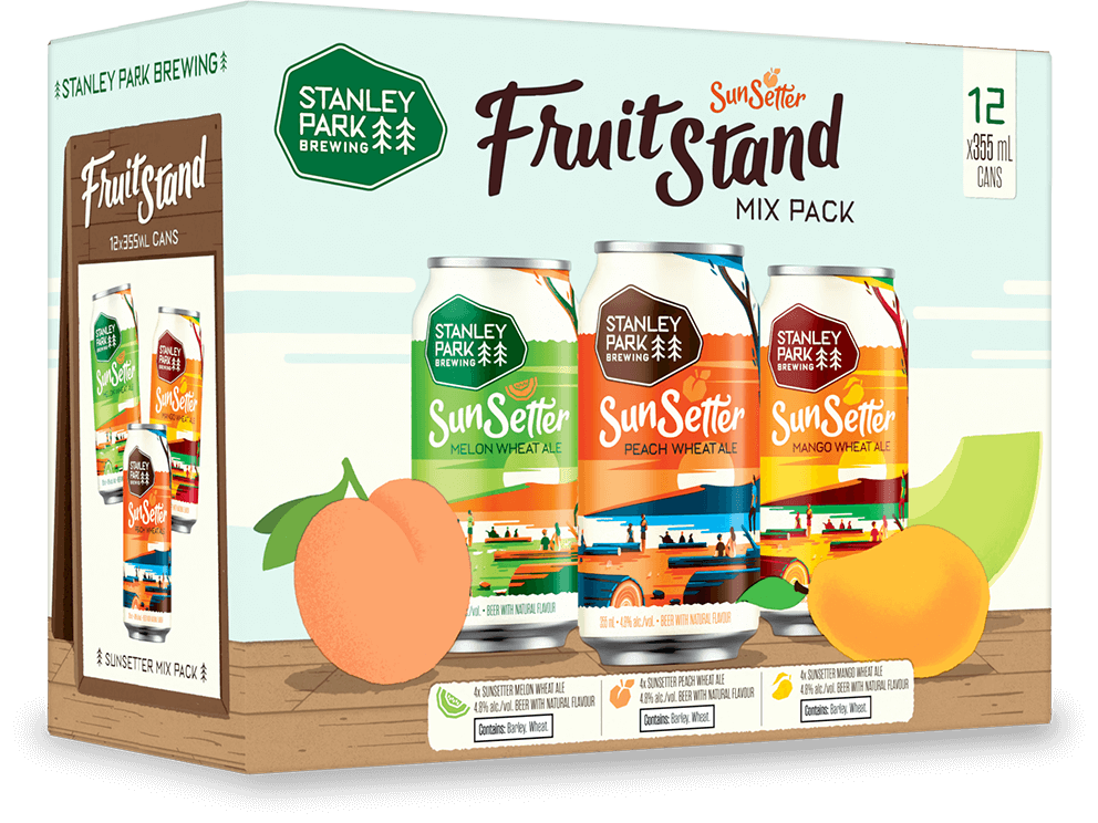 Sunsetter Variety Mix pack CRT LAF - Stanley Park Brewing