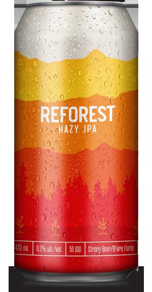 Reforest Hazy IPA - Stanley Park Brewing