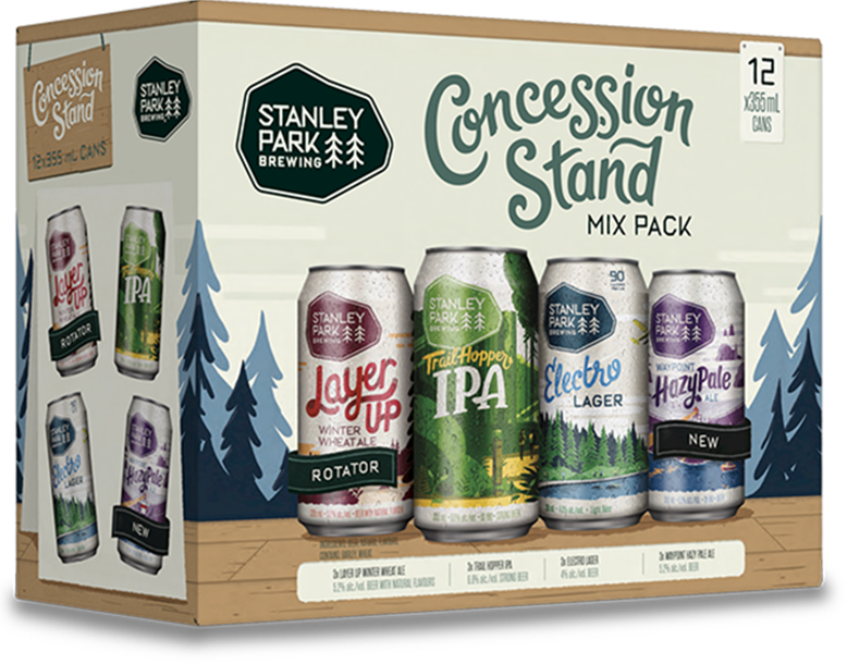 Concession Stand Mix Pack - Stanley Park Brewing