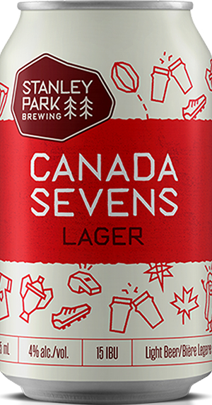 Canada Sevens Lager - Stanley Park Brewing