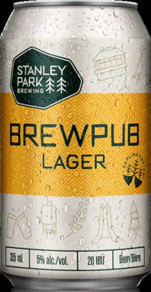 Brewpub Lager - Stanley Park Brewing